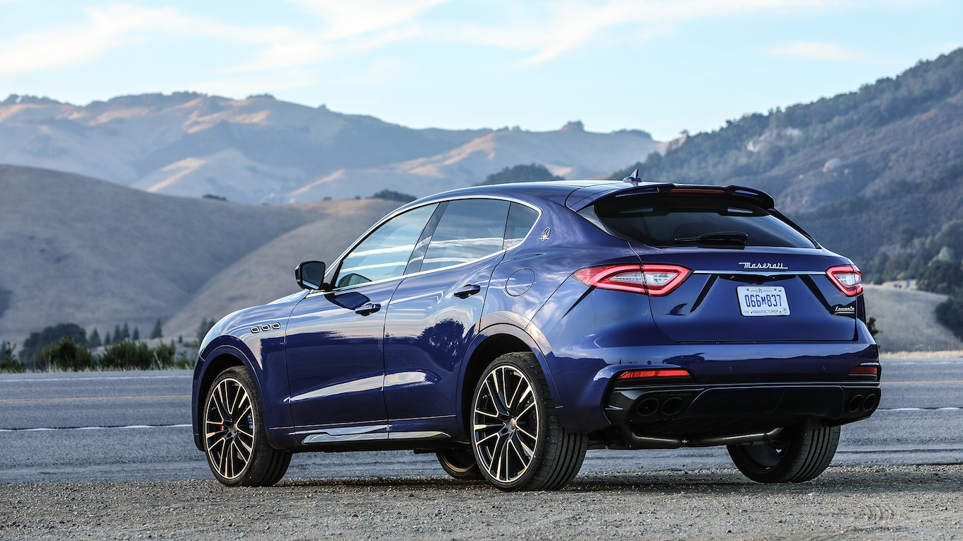 2019 Maserati Levante Trofeo Rear Three-Quarter Wallpapers #19 of 97