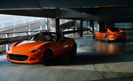 2019 Mazda MX-5 Miata 30th Anniversary Edition Front Wallpapers 450x275 (80)