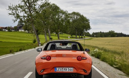 2019 Mazda MX-5 Miata 30th Anniversary Edition Rear Wallpapers 450x275 (44)