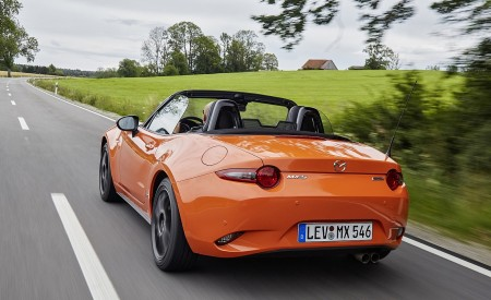 2019 Mazda MX-5 Miata 30th Anniversary Edition Rear Wallpapers 450x275 (65)