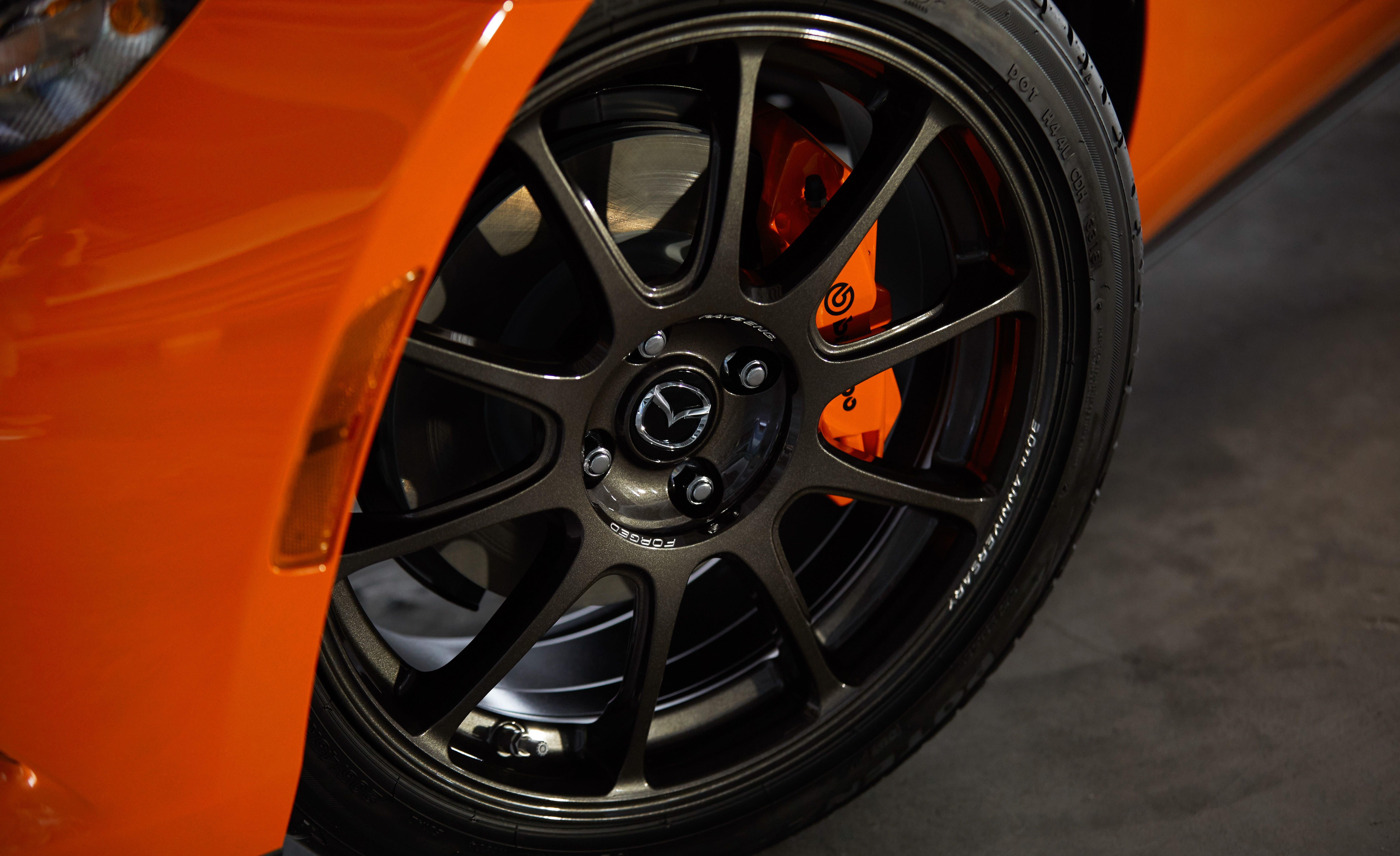 2019 Mazda MX-5 Miata 30th Anniversary Edition Wheel Wallpaper (9)
