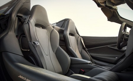 2019 McLaren 720S Spider (Color: Aztec Gold) Interior Seats Wallpaper 450x275 (14)