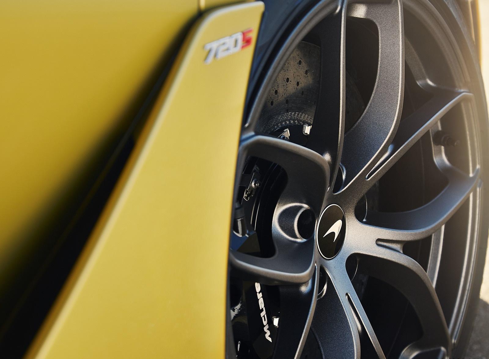 2019 McLaren 720S Spider (Color: Aztec Gold) Wheel Wallpapers (12)