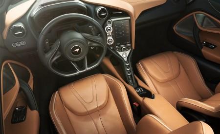 2019 McLaren 720S Spider (Color: Belize Blue) Interior Seats Wallpaper 450x275 (47)
