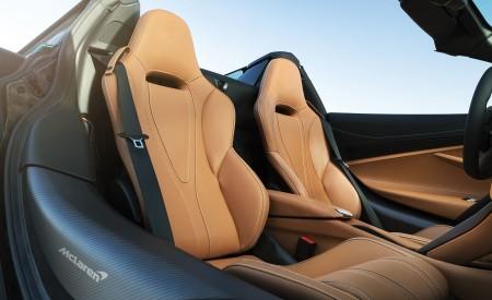 2019 McLaren 720S Spider (Color: Belize Blue) Interior Seats Wallpaper 450x275 (48)