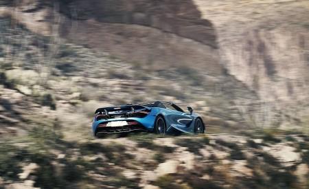 2019 McLaren 720S Spider (Color: Belize Blue) Rear Three-Quarter Wallpaper 450x275 (36)