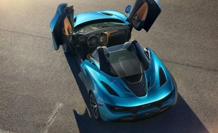 2019 McLaren 720S Spider (Color: Belize Blue) Top Wallpaper 450x275 (39)