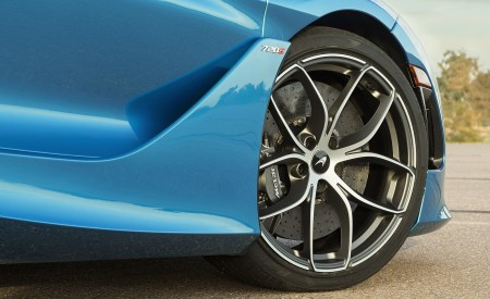 2019 McLaren 720S Spider (Color: Belize Blue) Wheel Wallpaper 450x275 (42)
