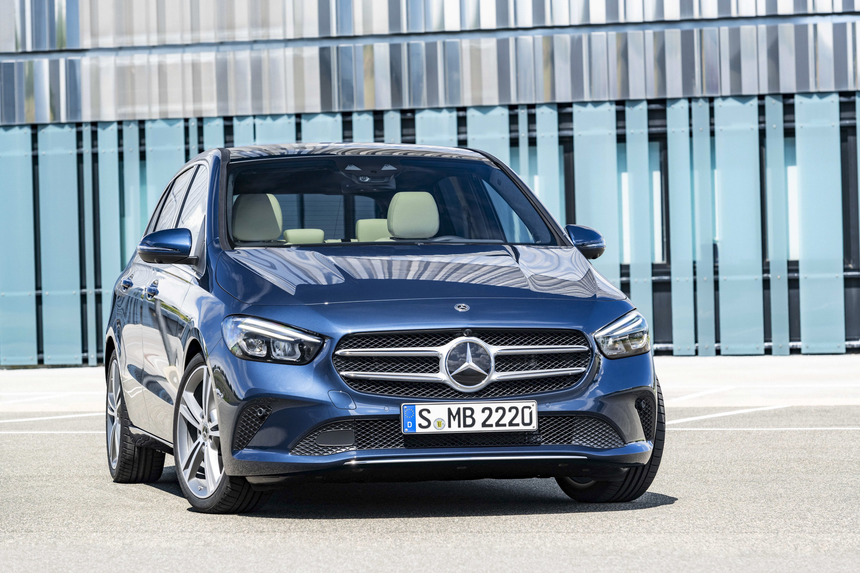 2019 Mercedes-Benz B-Class Front Wallpaper (13)