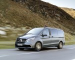 2019 Mercedes-Benz V-Class EXCLUSIVE Line (Color: Selenit Grey Metallic) Front Three-Quarter Wallpaper 150x120 (7)