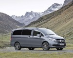 2019 Mercedes-Benz V-Class EXCLUSIVE Line (Color: Selenit Grey Metallic) Front Three-Quarter Wallpaper 150x120 (25)