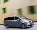 2019 Mercedes-Benz V-Class EXCLUSIVE Line (Color: Selenit Grey Metallic) Front Three-Quarter Wallpapers 150x120 (9)