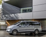 2019 Mercedes-Benz V-Class EXCLUSIVE Line (Color: Selenit Grey Metallic) Side Wallpaper 150x120 (21)