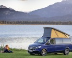 2019 Mercedes-Benz V-Class Marco Polo (Color: Cavansit Blue Metallic) Front Three-Quarter Wallpaper 150x120 (45)