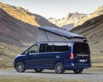 2019 Mercedes-Benz V-Class Marco Polo (Color: Cavansit Blue Metallic) Rear Three-Quarter Wallpaper 150x120 (50)