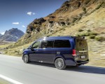 2019 Mercedes-Benz V-Class Marco Polo (Color: Cavansit Blue Metallic) Rear Three-Quarter Wallpaper 150x120 (40)