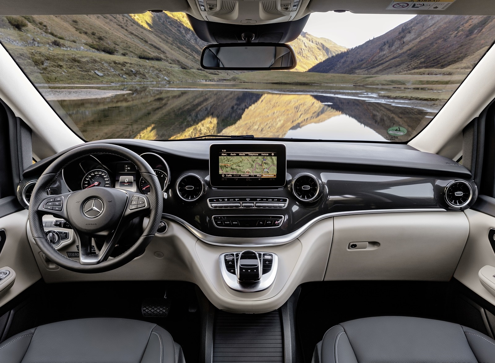 2019 Mercedes Benz V Class Marco Polo Interior Cockpit Wallpapers