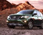 2019 Nissan Pathfinder Rock Creek Edition Front Three-Quarter Wallpapers 150x120 (1)