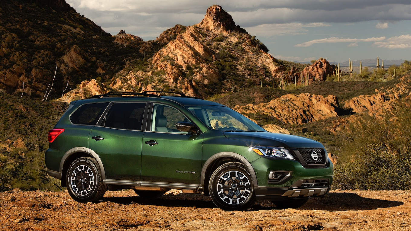 2019 Nissan Pathfinder Rock Creek Edition Front Three-Quarter Wallpapers (2)