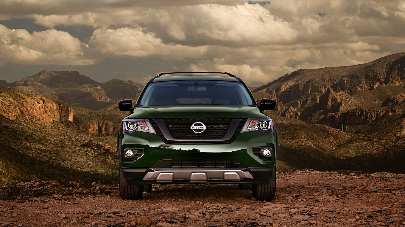 2019 Nissan Pathfinder Rock Creek Edition Front Wallpapers (3)