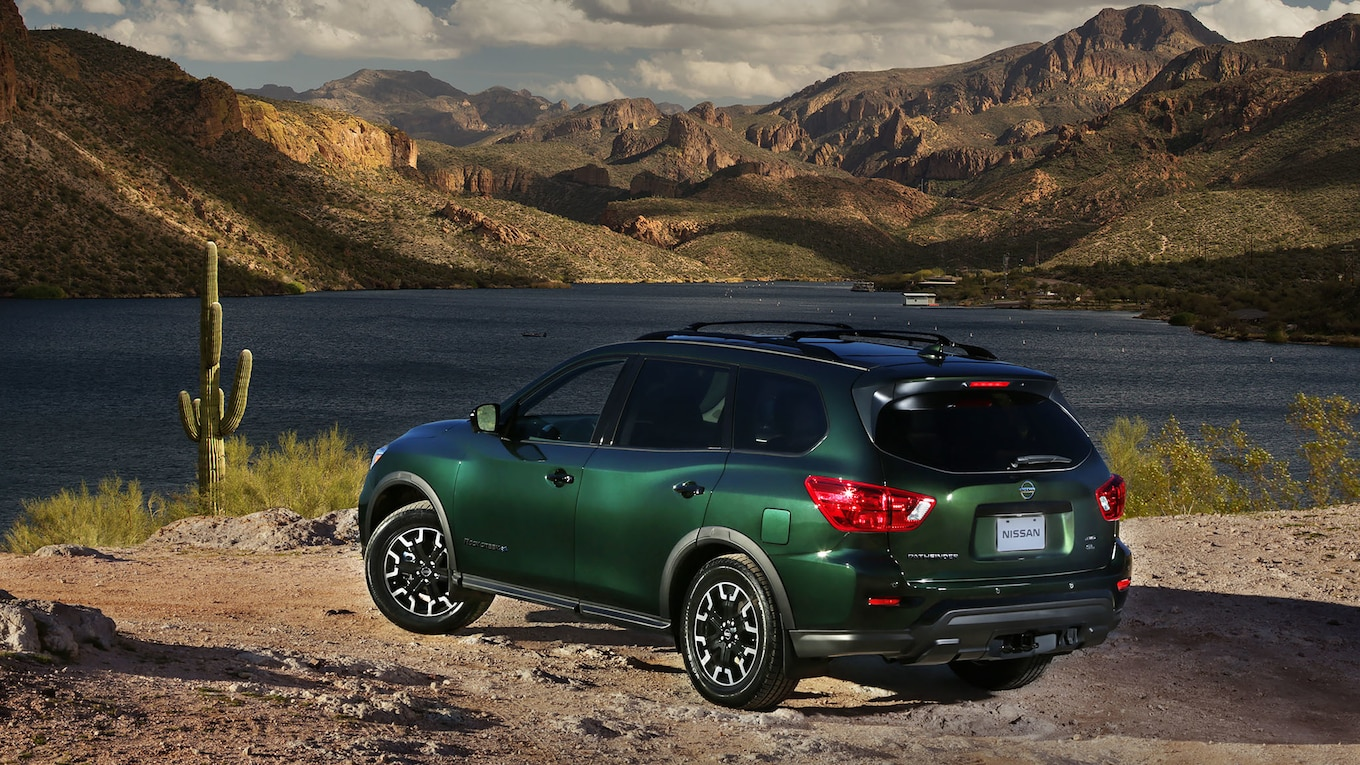 2019 Nissan Pathfinder Rock Creek Edition Rear Three-Quarter Wallpapers (6)