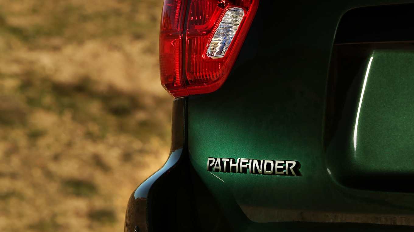 2019 Nissan Pathfinder Rock Creek Edition Tail Light Wallpapers (10)