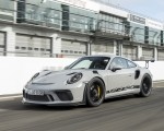 2019 Porsche 911 GT3 RS (Color: Crayon) Front Three-Quarter Wallpaper 150x120 (50)