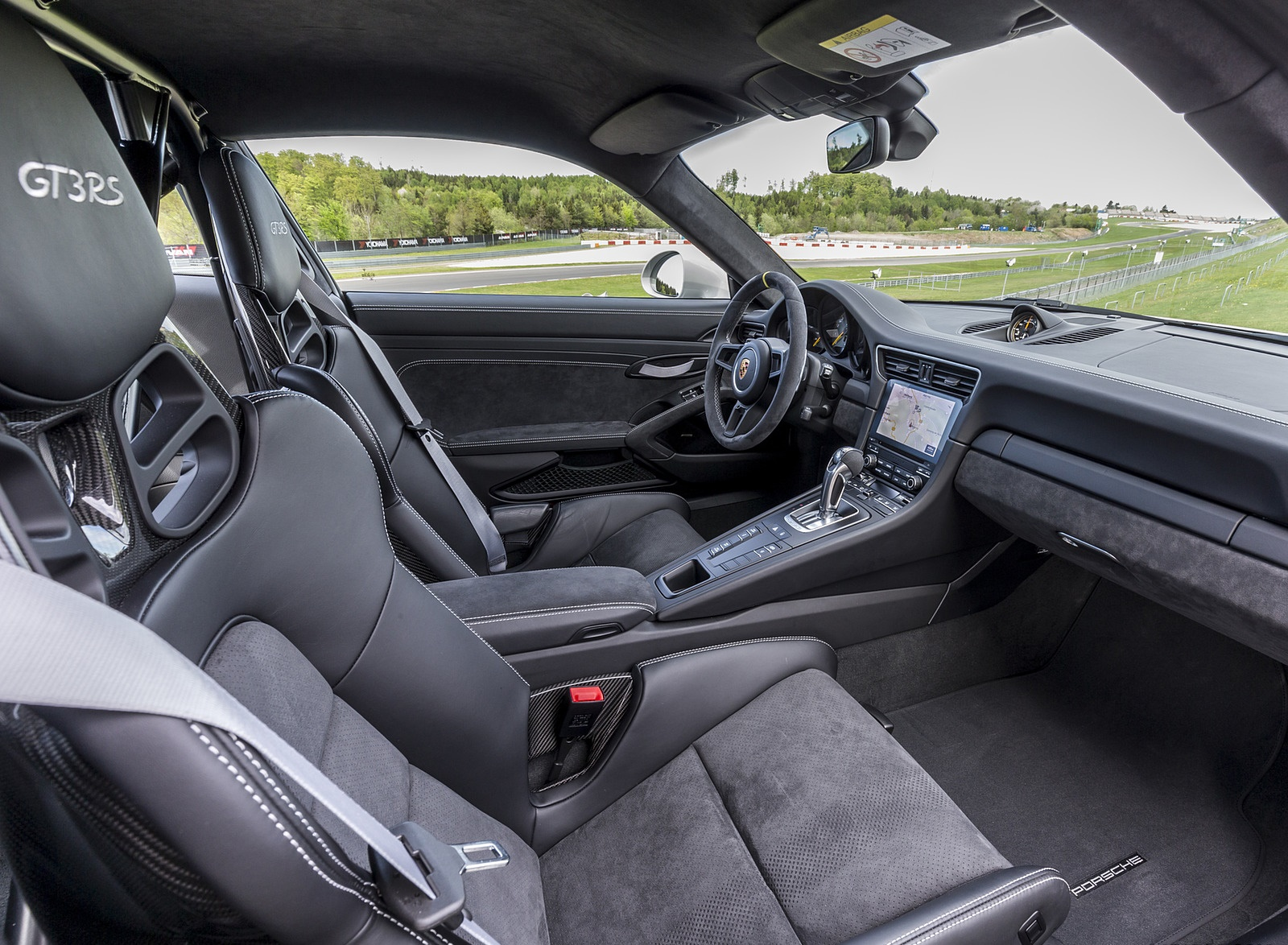 2019 Porsche 911 Gt3 Rs Color Crayon Interior Cockpit Wallpapers 68 Newcarcars