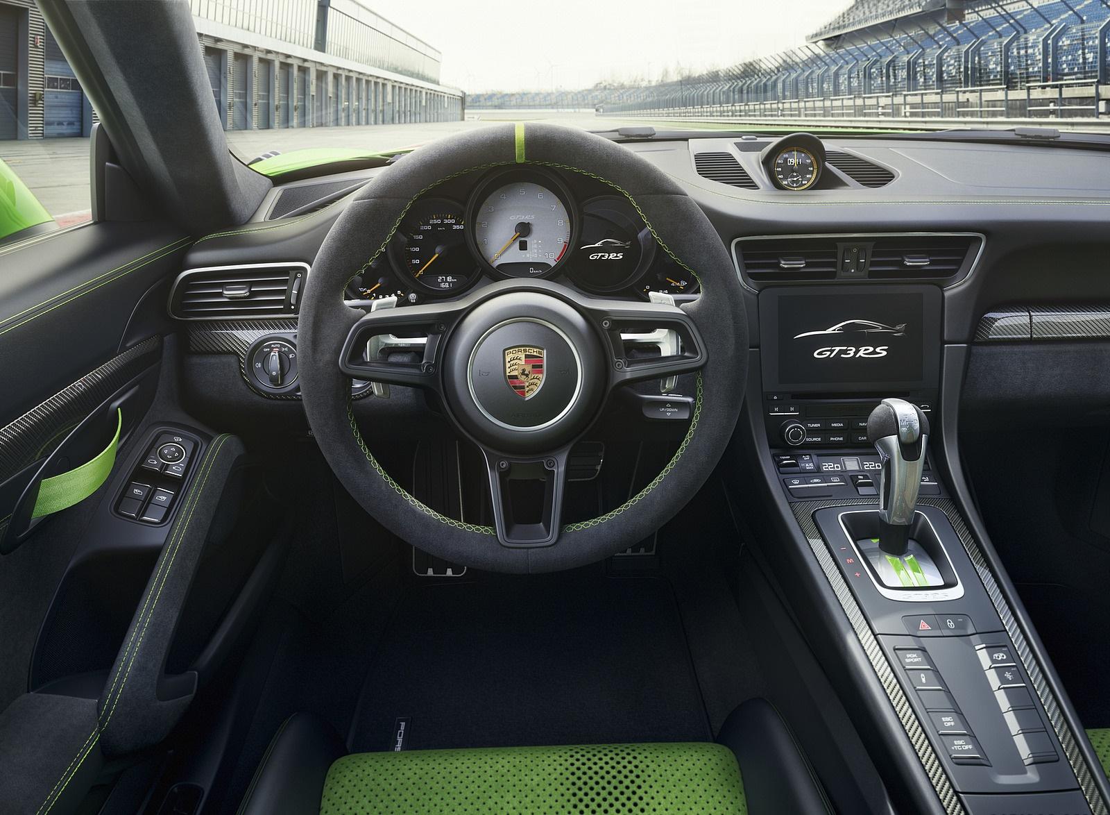 2019 Porsche 911 GT3 RS Interior Cockpit Wallpaper