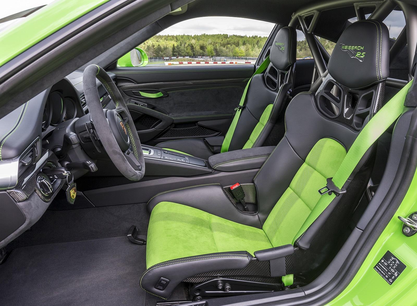 2019 Porsche 911 Gt3 Rs Weissach Package Color Lizard Green Interior Cockpit Wallpapers 194 Newcarcars