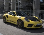 2019 Porsche 911 GT3 RS Weissach Package (Color: Racing Yellow) Front Three-Quarter Wallpaper 150x120 (13)