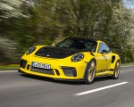 2019 Porsche 911 GT3 RS Weissach Package (Color: Racing Yellow) Front Three-Quarter Wallpaper 150x120 (2)