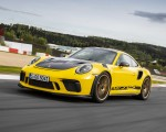 2019 Porsche 911 GT3 RS Weissach Package (Color: Racing Yellow) Front Three-Quarter Wallpaper 150x120 (3)