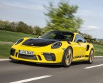 2019 Porsche 911 GT3 RS Weissach Package (Color: Racing Yellow) Front Three-Quarter Wallpaper 150x120 (9)