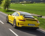 2019 Porsche 911 GT3 RS Weissach Package (Color: Racing Yellow) Rear Three-Quarter Wallpaper 150x120 (5)