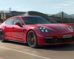 2019 Porsche Panamera GTS (Color: Carmine Red) Front Three-Quarter Wallpapers 150x120 (3)