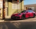 2019 Porsche Panamera GTS (Color: Carmine Red) Front Three-Quarter Wallpaper 150x120 (8)