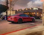 2019 Porsche Panamera GTS (Color: Carmine Red) Rear Three-Quarter Wallpapers 150x120 (10)