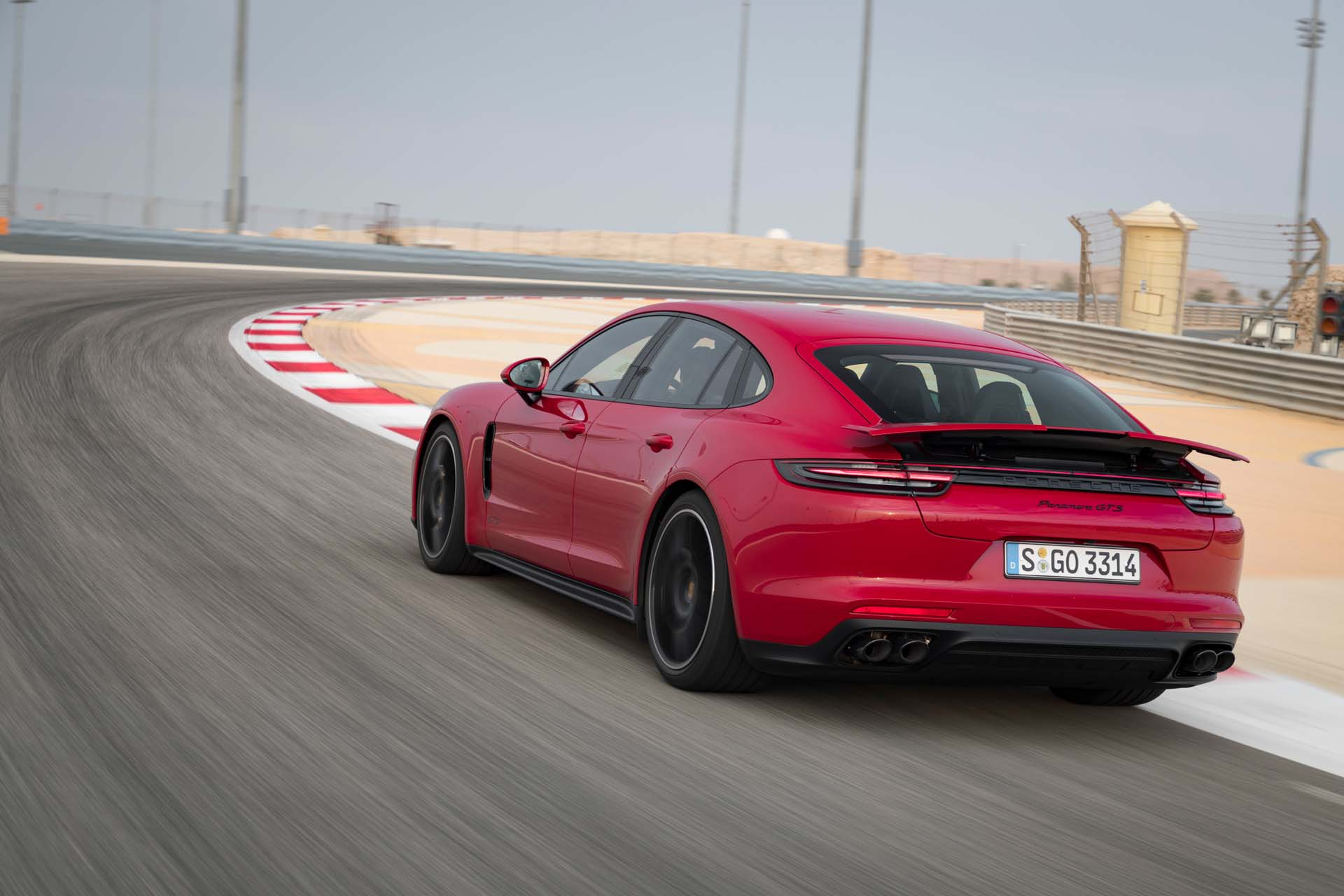2019 Porsche Panamera Gts Color Carmine Red Rear Wallpapers 64 Newcarcars