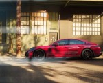 2019 Porsche Panamera GTS (Color: Carmine Red) Side Wallpapers 150x120 (7)