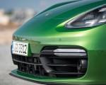 2019 Porsche Panamera GTS (Color: Mamba Green Metallic) Front Bumper Wallpapers 150x120 (36)