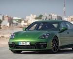 2019 Porsche Panamera GTS (Color: Mamba Green Metallic) Front Three-Quarter Wallpapers 150x120 (37)