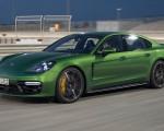 2019 Porsche Panamera GTS (Color: Mamba Green Metallic) Front Three-Quarter Wallpapers 150x120 (30)