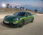 2019 Porsche Panamera GTS (Color: Mamba Green Metallic) Front Three-Quarter Wallpapers 150x120 (24)
