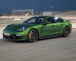 2019 Porsche Panamera GTS (Color: Mamba Green Metallic) Front Three-Quarter Wallpapers 150x120 (25)