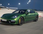 2019 Porsche Panamera GTS (Color: Mamba Green Metallic) Front Three-Quarter Wallpapers 150x120 (26)