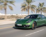 2019 Porsche Panamera GTS (Color: Mamba Green Metallic) Front Three-Quarter Wallpapers 150x120 (31)