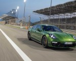 2019 Porsche Panamera GTS (Color: Mamba Green Metallic) Front Three-Quarter Wallpapers 150x120 (27)