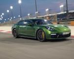 2019 Porsche Panamera GTS (Color: Mamba Green Metallic) Front Three-Quarter Wallpapers 150x120 (21)