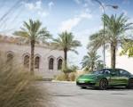 2019 Porsche Panamera GTS (Color: Mamba Green Metallic) Front Three-Quarter Wallpapers 150x120 (14)